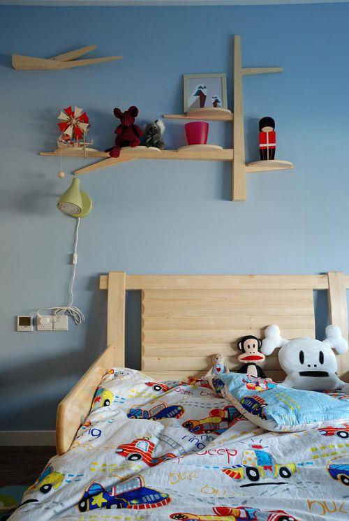 美式混搭儿童房装修效果展示