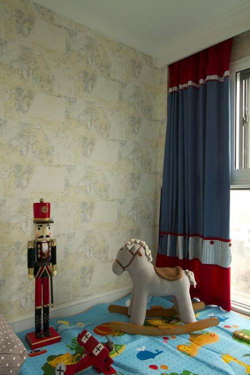 美式复古儿童房装修案例