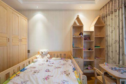 新古典美式混搭精致儿童房设计方案