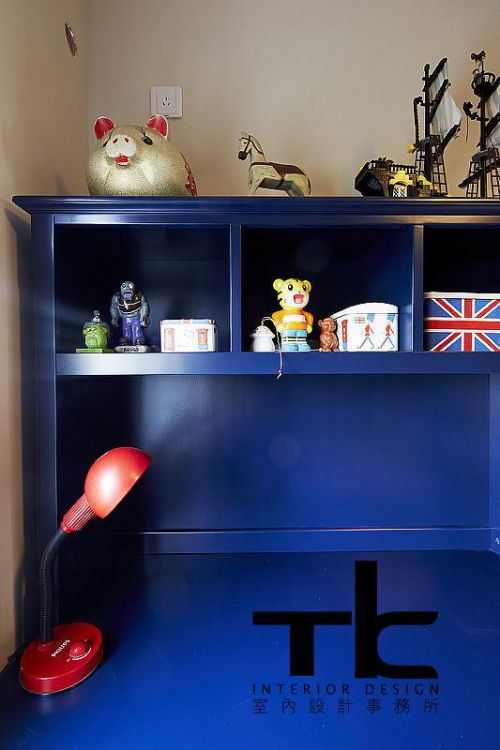美式复古儿童房装修效果展示