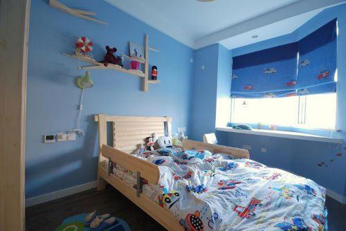 美式混搭儿童房效果图