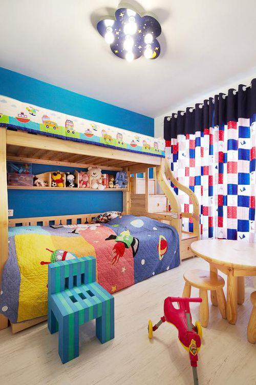 新古典美式精致后现代儿童房设计案例