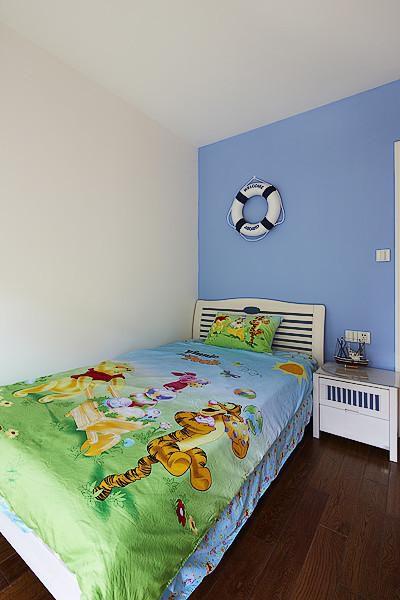 田园美式混搭儿童房装修效果展示