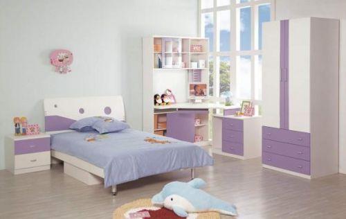 现代简约儿童房效果图