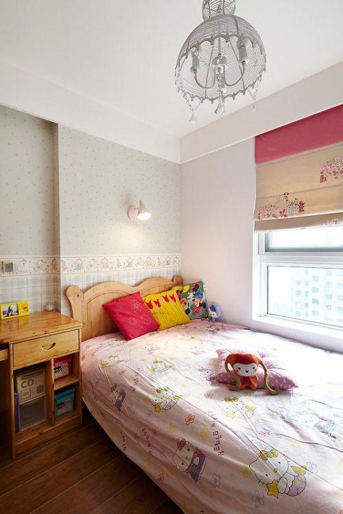 中式田园混搭复古卧室儿童房案例展示