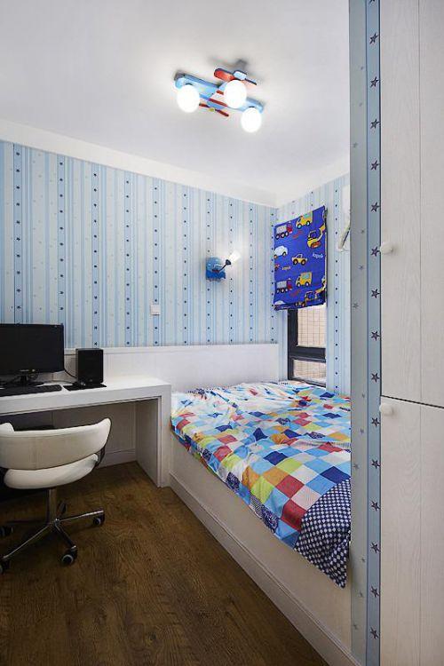 现代简约田园儿童房案例展示