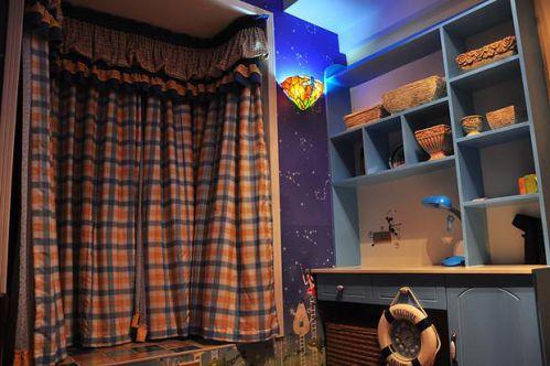 田园地中海新古典复古儿童房设计案例展示
