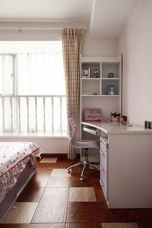 现代简约儿童房装修效果展示
