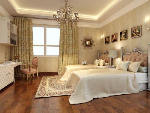 地中海地中海风格儿童房窗帘装修效果展示