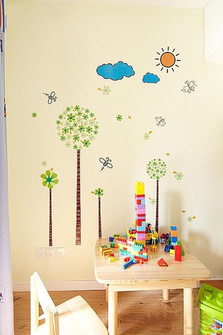 田园地中海儿童房设计案例展示