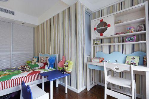 现代简约儿童房装修图