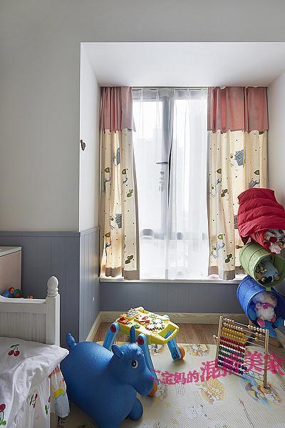 美式混搭复古儿童房设计方案