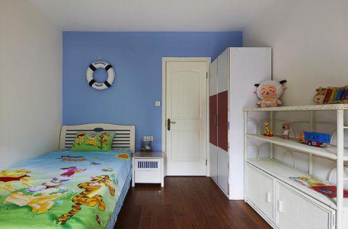 田园美式混搭儿童房设计方案