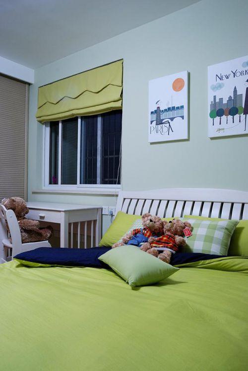 现代简约中式混搭儿童房设计案例展示