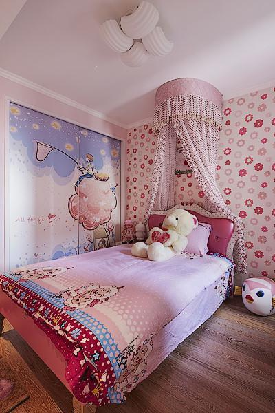 欧式混搭儿童房装修案例