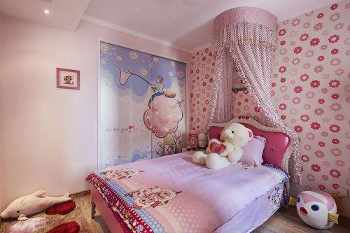 欧式混搭儿童房装修效果展示