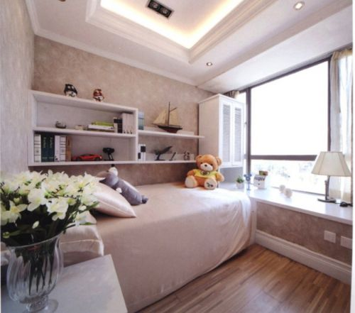 欧式卧室儿童房设计案例