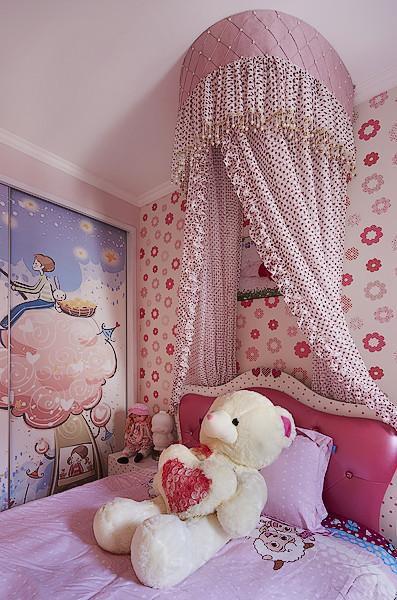 歐式混搭兒童房裝修效果展示