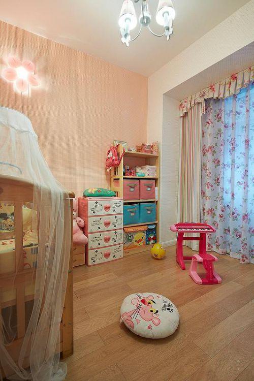 欧式新古典混搭儿童房设计方案