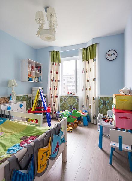 现代简约欧式儿童房效果图