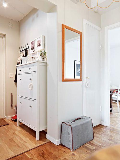 北欧玄关玄关柜设计案例