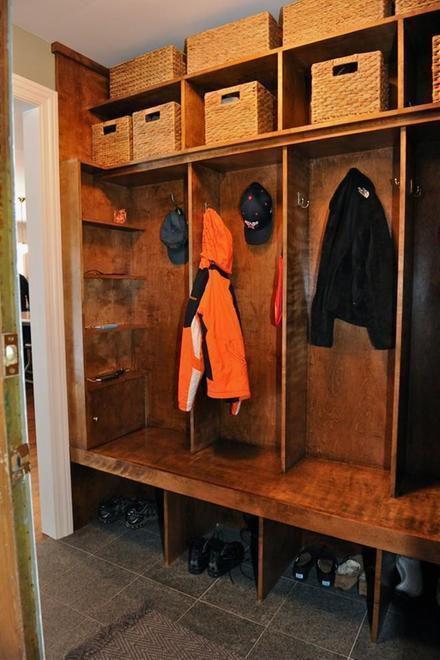 现代简约北欧玄关衣帽间玄关柜设计图