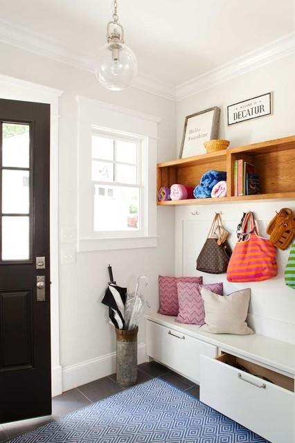 现代简约玄关玄关柜设计方案