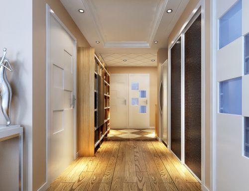现代简约风格玄关玄关柜装修图
