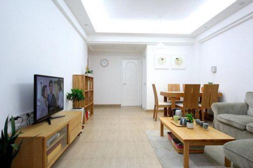 日式清新自然日式風格客廳餐廳玄關玄關柜圖片