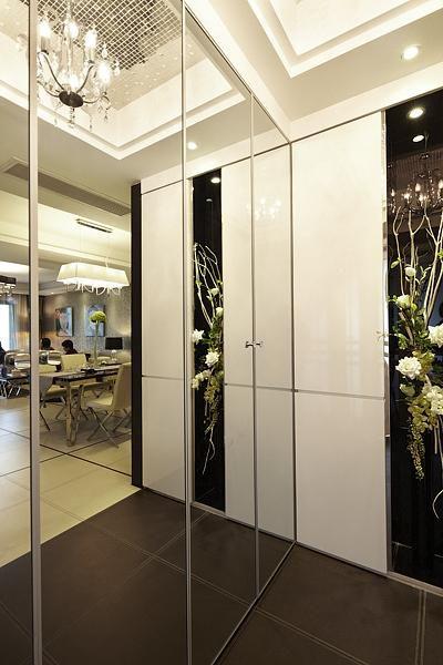 现代简约欧式日式玄关玄关柜设计图