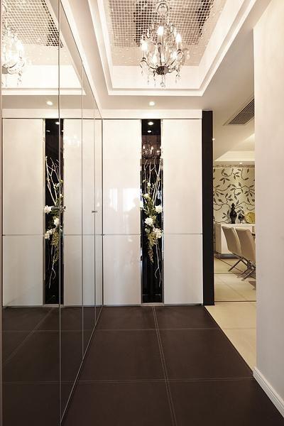 现代简约欧式日式玄关玄关柜设计案例展示