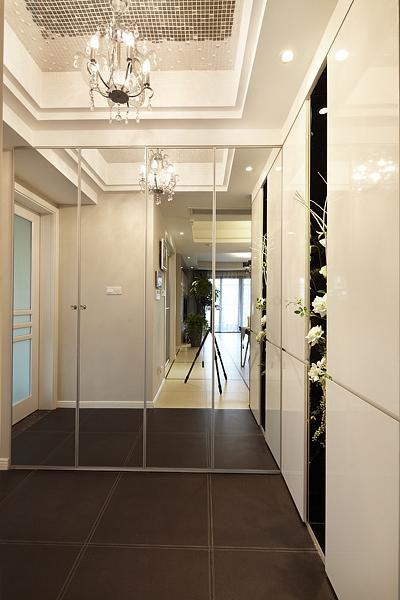 現代簡約歐式日式玄關玄關柜裝修圖