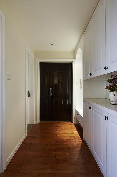 日式美式玄關玄關柜設計方案