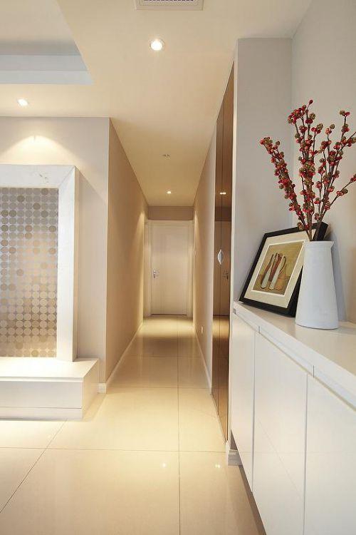 現代簡約日式玄關玄關柜設計案例
