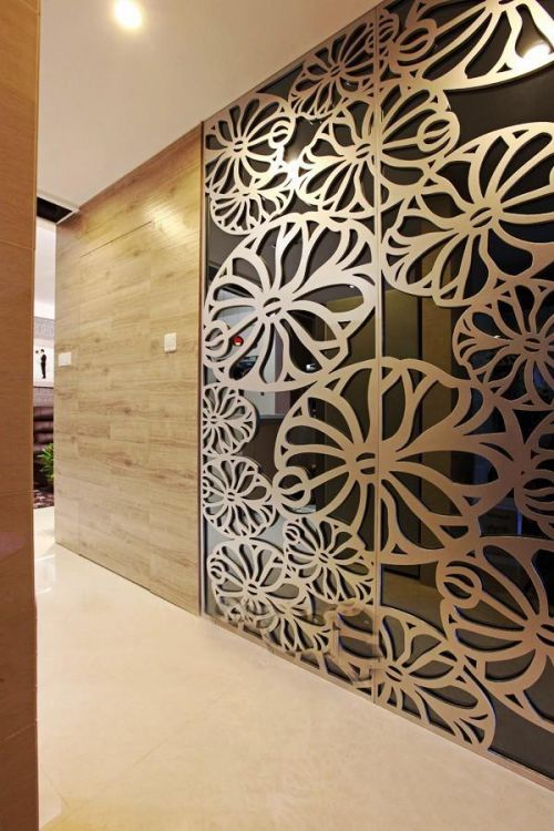 现代简约新古典玄关玄关柜图片