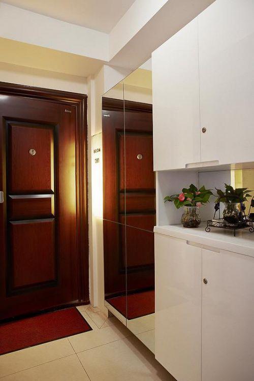 欧式新古典混搭玄关玄关柜设计案例