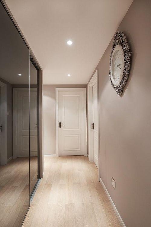 欧式新古典混搭玄关玄关柜设计案例展示