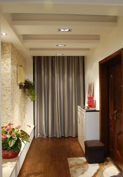 中式欧式新古典混搭玄关玄关柜设计案例
