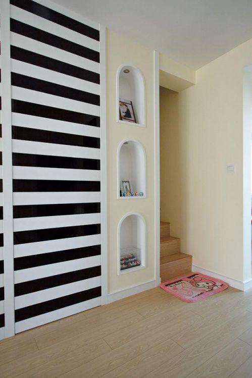 现代简约韩式玄关玄关柜设计案例展示