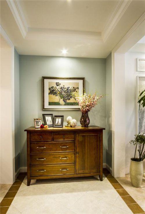 现代简约美式玄关玄关柜装修图