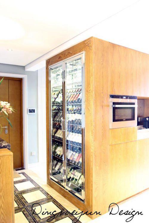 现代简约混搭复古玄关玄关柜设计图