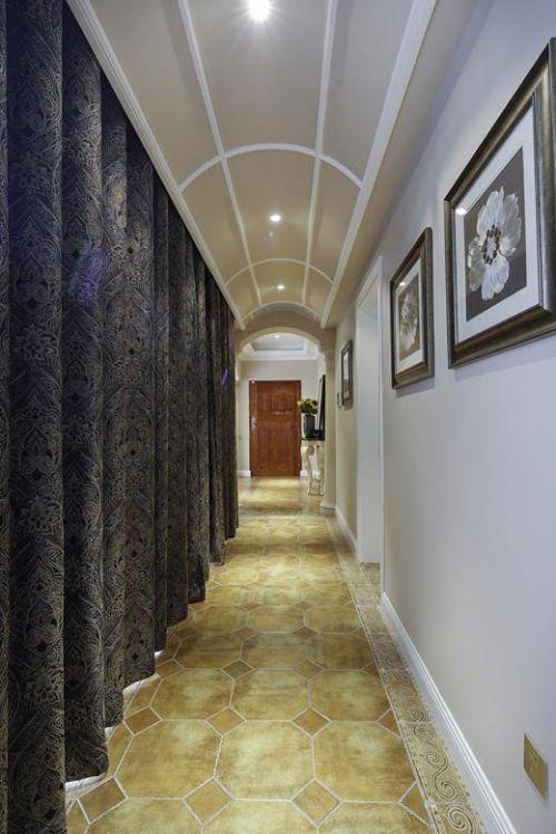 现代简约美式混搭玄关玄关柜图片