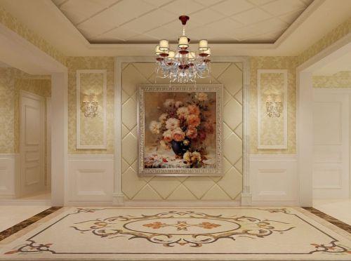 欧式玄关吊顶玄关柜设计图