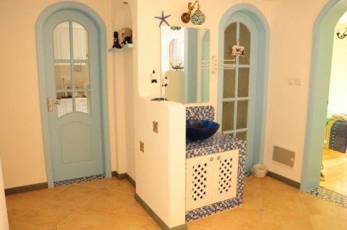 地中海玄关玄关柜设计图