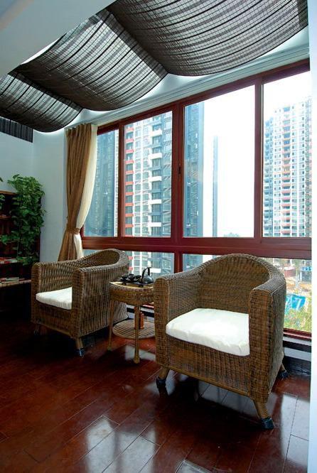 中式东南亚阳台设计方案