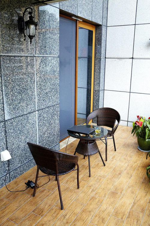 地中海美式混搭阳台设计案例展示
