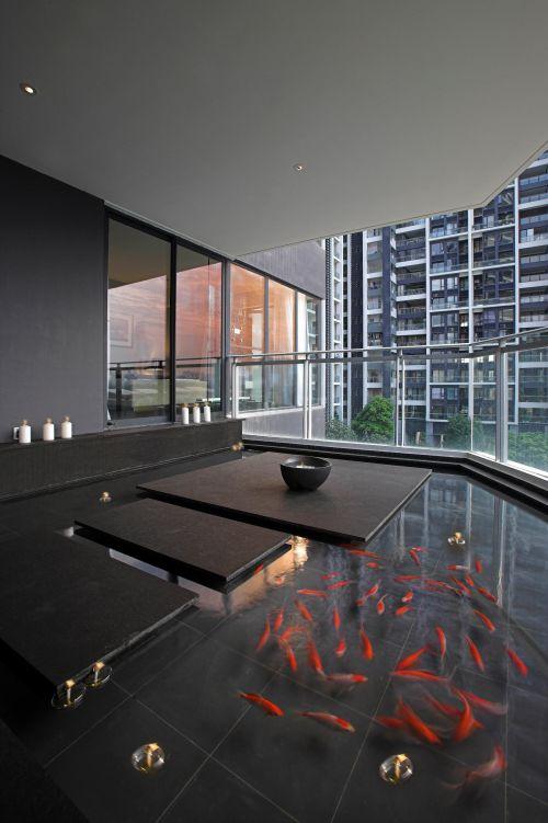 现代简约阳台装修案例