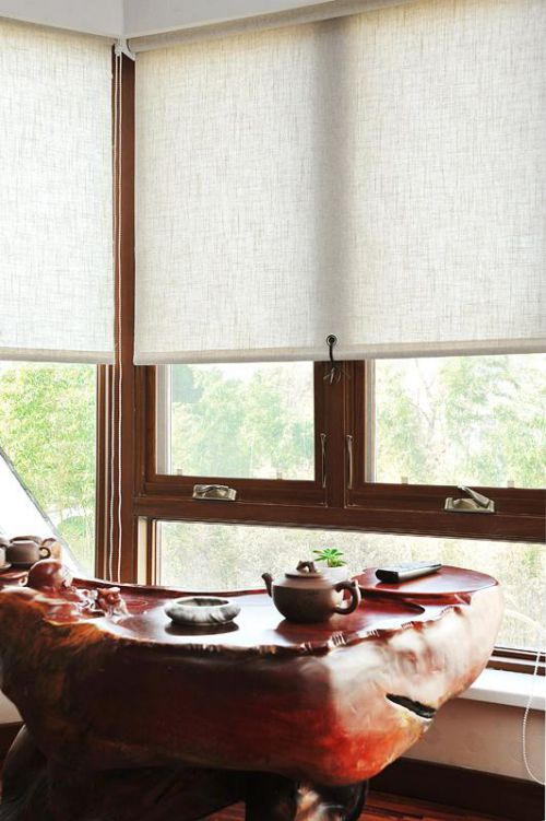 现代简约中式日式阳台装修案例