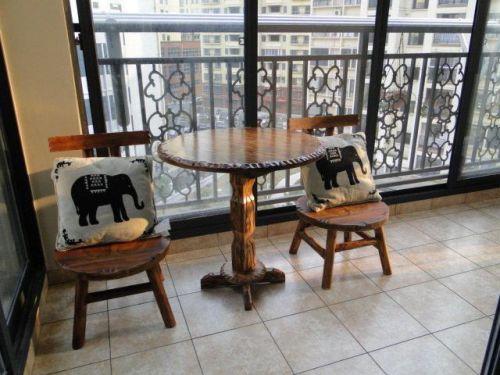 现代简约中式田园阳台案例展示