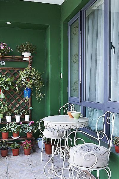 现代简约美式阳台设计案例展示